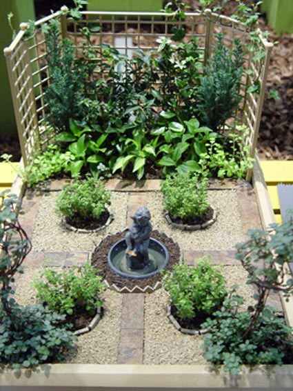 How to create a fairy garden greenview fertilizer for How to make a miniature garden