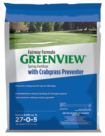 GreenView Fairway Formula Spring Fertilizer with Crabgrass Preventer 21-29189