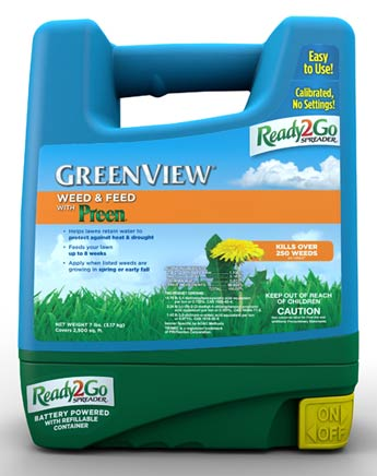 GreenView Weed & Feed with Preen® - Ready2Go Spreader 21-29795