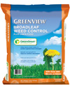 GreenView Broadleaf Weed Control plus Lawn Food with GreenSmart