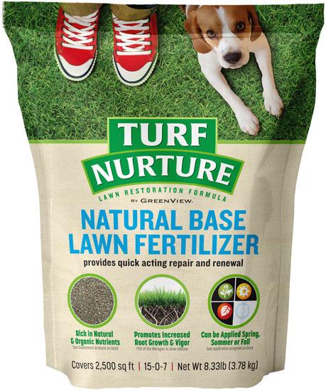 Turf Nurture Natural Base Fertilizer For Lawn Restoration